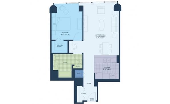 The Streeter 1 Bedroom
