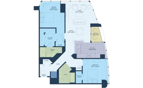 The Streeter 2 Bedroom