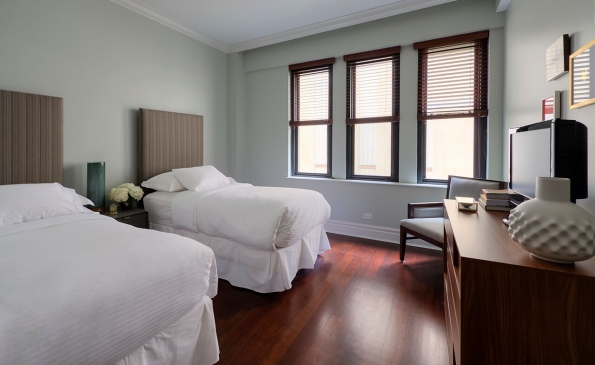Walton Twin Bed Guest Bedroom