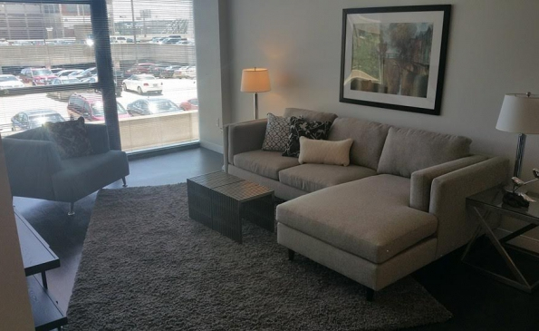 Buckler living room couch