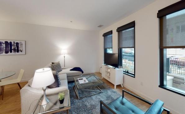 Porte-2-Bedroom-Townhome-Living-Room